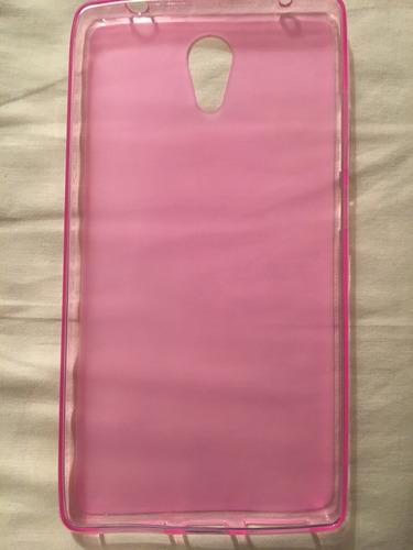 goma flexible lenovo phab 2 rosado 650y