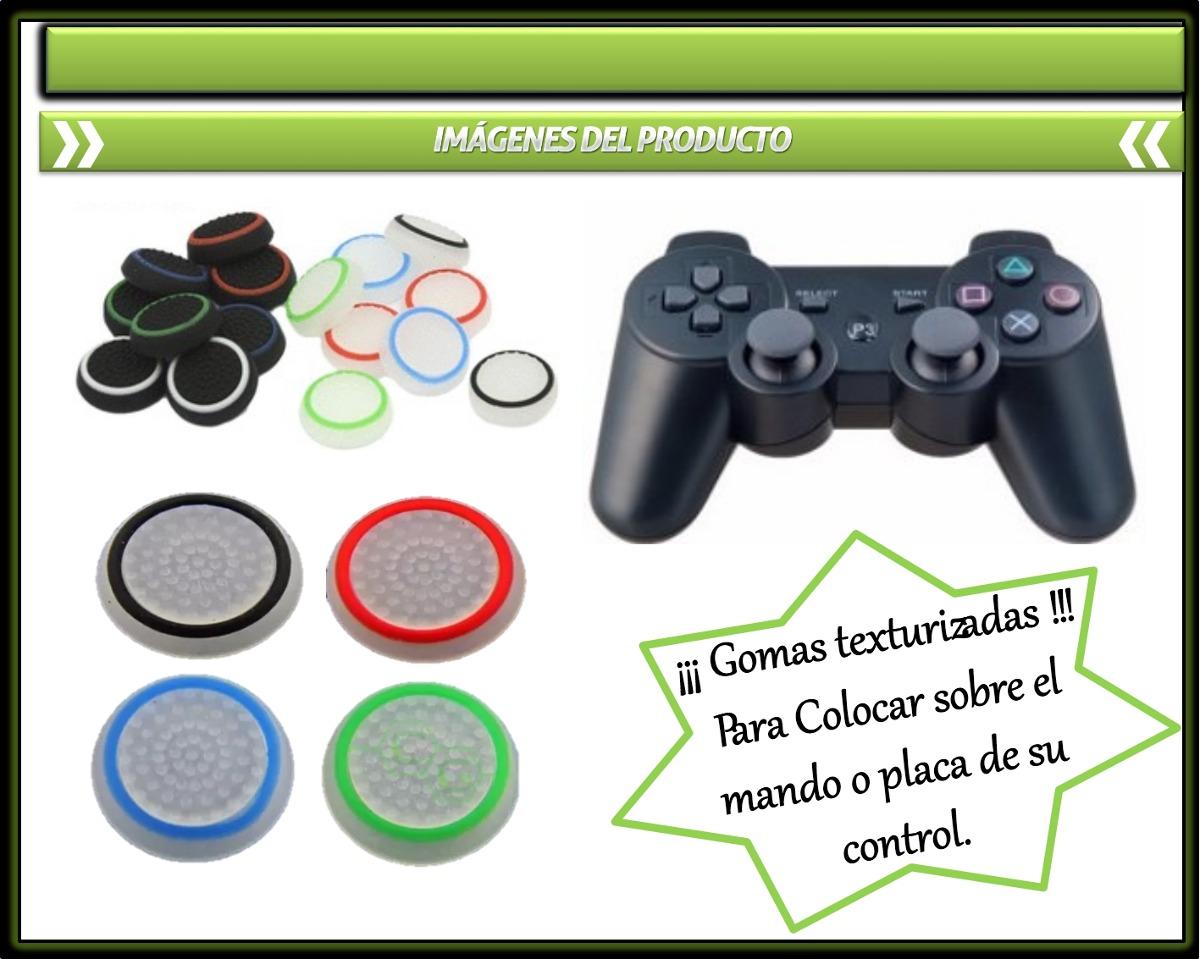 Goma Para Ps3, Ps4, Joysticks Xbox360, One Precio Por Par - U$S 2 ...