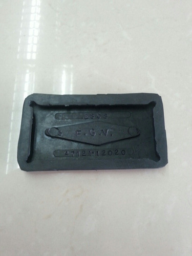 goma pedal de freno toyota corolla automatico 99-2002