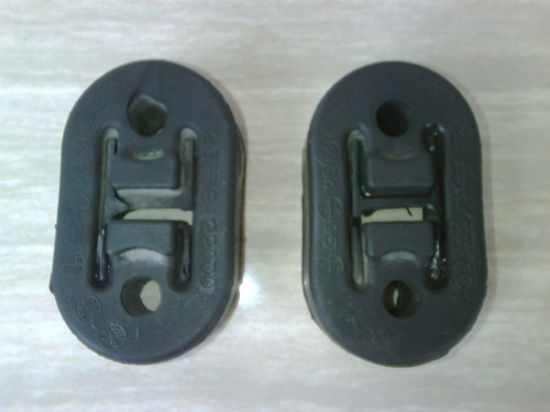 goma soporte tubo escape hyundai excel, accent / 28658-22000
