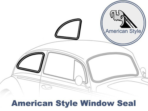 goma ventana trasera vw escarabajo american style 65-77 a2