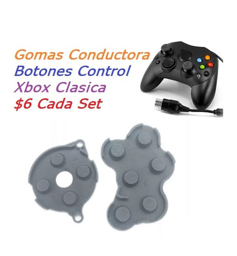 gomas conductora control xbox clasico