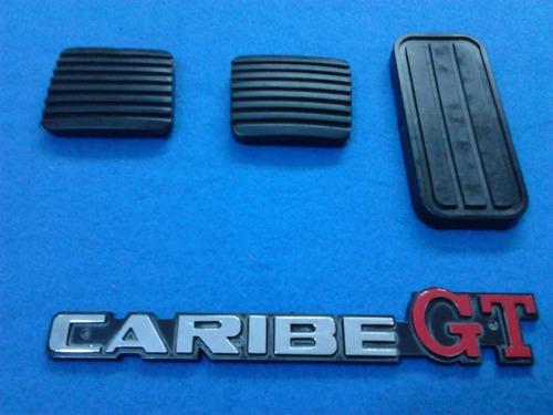 gomas de pedales de caribe/atlantic/cabrio