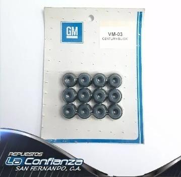 gomas de válvula chevro century celebrity 2.8l - 3.1 inyec