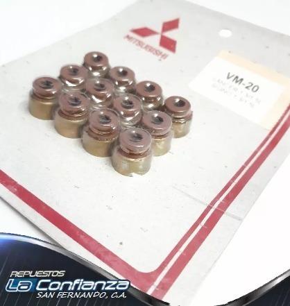 gomas de válvula mitsubishi lancer signo 1.3l-1.5l