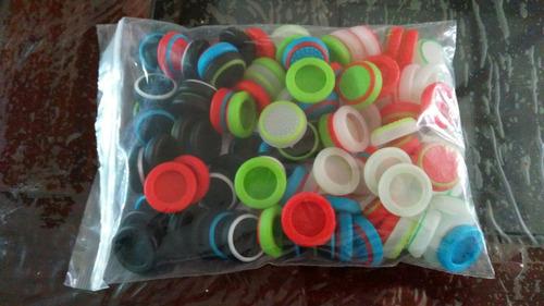 gomas para palancas (100 piezas) ps3,4, xbox one,360+spinner
