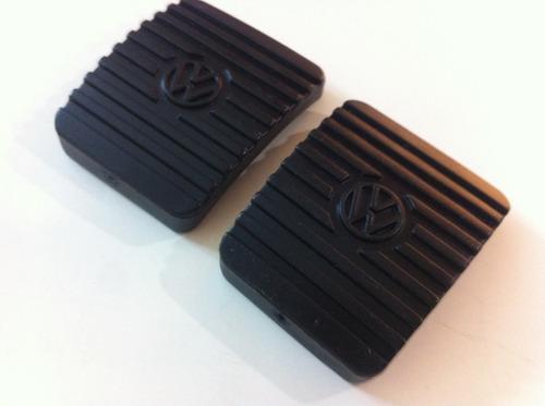 gomas para pedales vw sedán vocho originales nuevas