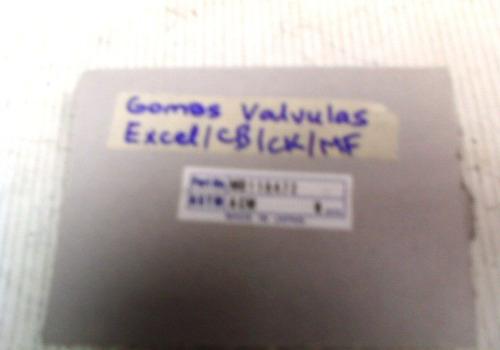 gomas valvula excel / lancer 92-01 1.3 1.5 / signo / mf 2.0