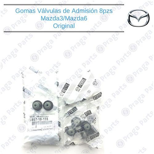 gomas válvulas admisión original mazda 3 # l807 10 155