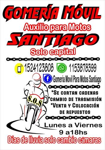 gomeria móvil para motos a domicilio en capital federeal