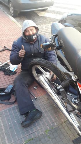 gomeria movil y mecanica de motos a domicilio