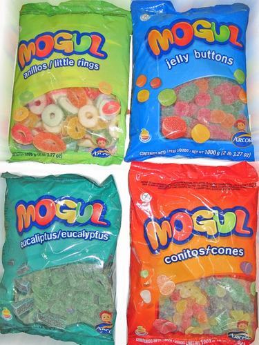gomitas mogul jelly buttons 1 kilo sin tacc - la golosineria