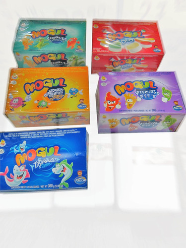 gomitas mogul promo caja x 12 sobres - barata la golosineria