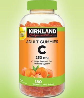 gomitas para adultos vitamina c 250 mg 180 gomitas
