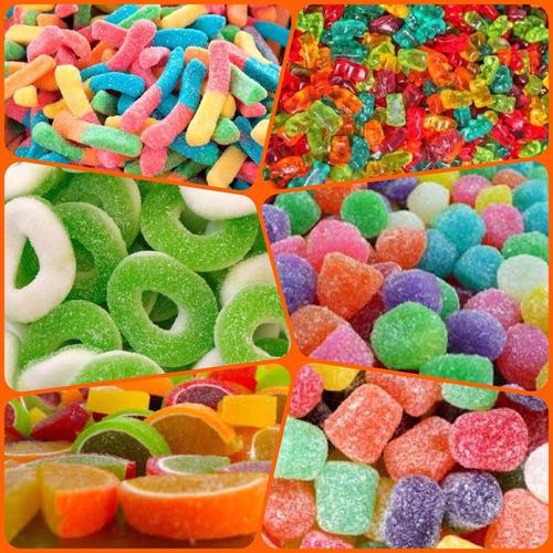 gomitas para mesas de dulces, fiestas, reventa por kilo