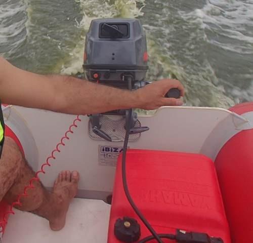 gomon auxiliar ibiza con yamaha 8 hp nuevo