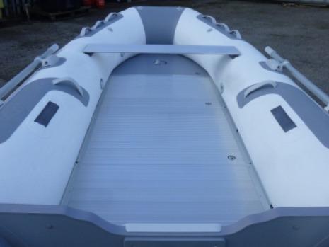gomon bote inflable zodiac piso aluminio inflador remo