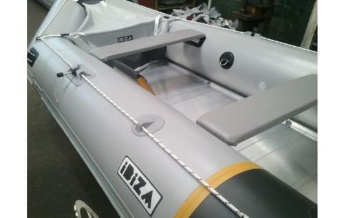 gomon desarmable ibiza 390 ex piso de aluminio con motor