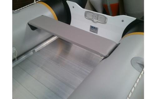 gomon desarmable ibiza 390 explorer piso de aluminio tarjeta