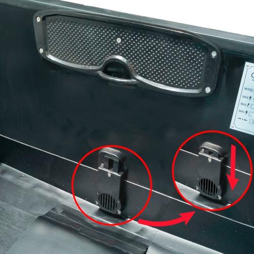 gomon desarmable piso aluminio 3.60 m torque marine