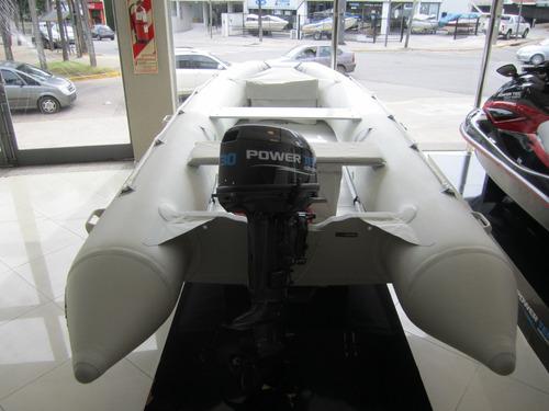 gomon inflable power tec 4,20 2019 oferta nautica milione 4