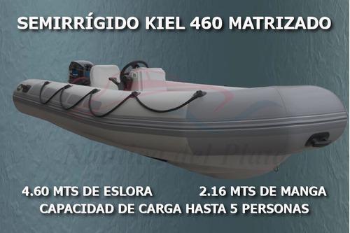 gomon semirrigido kiel 460 motor 40 hp inyeccion ecologico