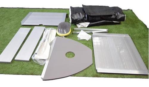 gomones inflables con piso aluminio 3m silvermarine