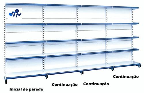 gondola parede 160 4 metros 1 inicial 3 continuação