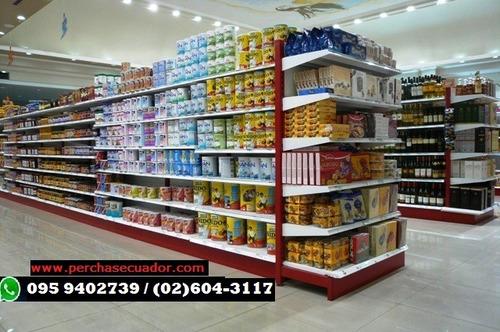 gondolas y perchas para supermercado