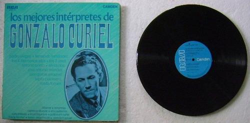 gonzalo curiel / los mejores  1 disco lp vinilo