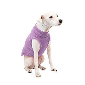 gooby estiramiento fleece pullover clima frío del chaleco d