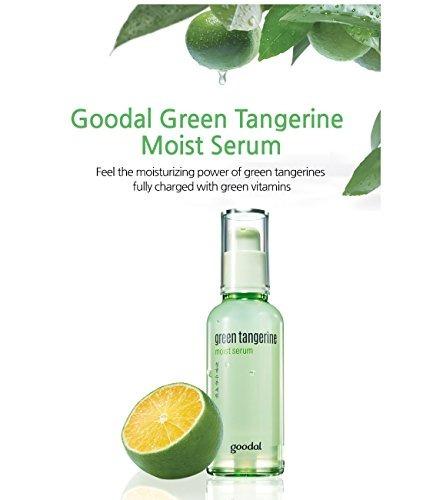 goodal green tangerine moist serum 1.7 onzas verdes