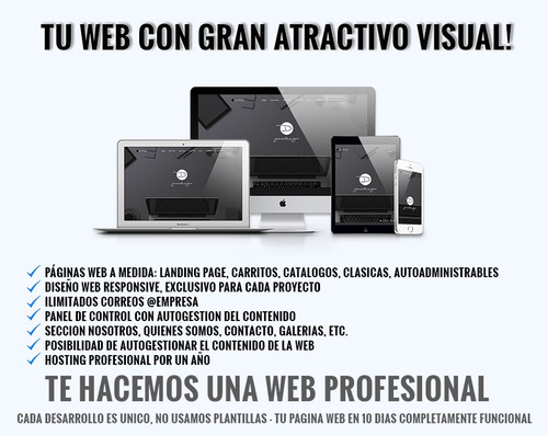 goodesign diseño web profesional - web autoadministrable