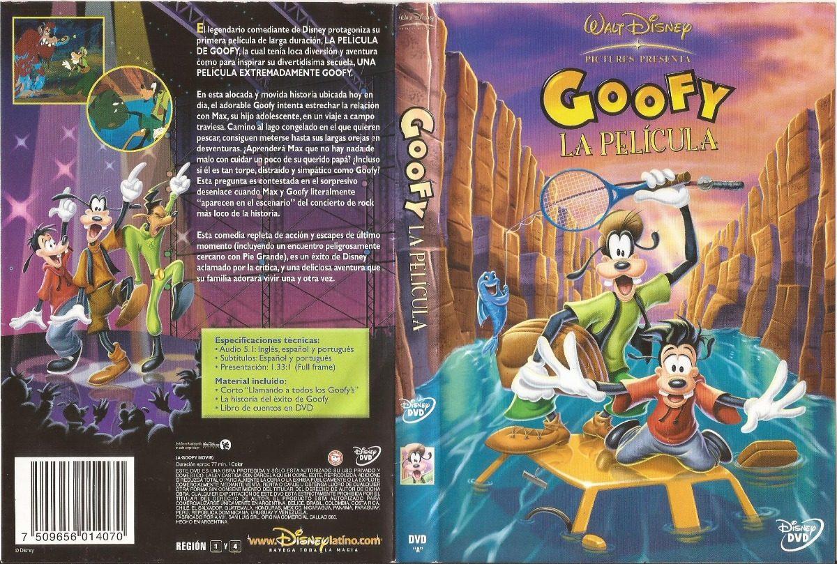 Goofy La Pelicula Dvd A Goofy Movie Walt Disney Castellano - $ 300 ...