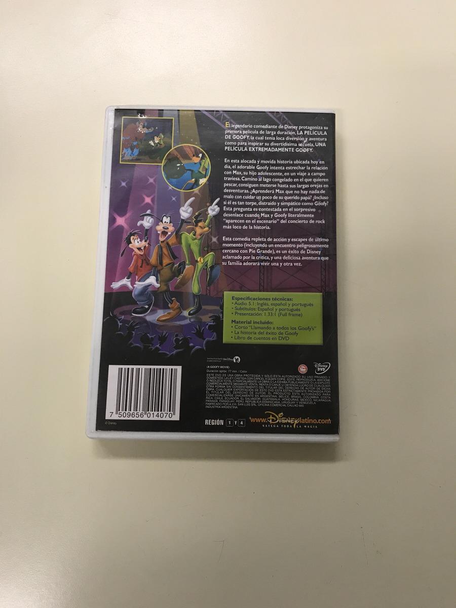 Goofy La Pelicula Dvd Walt Disney Tribilin - $ 199,99 en Mercado Libre