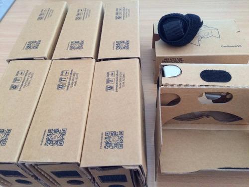 google cardboard 2.0 - realdad virtual- syncro vr