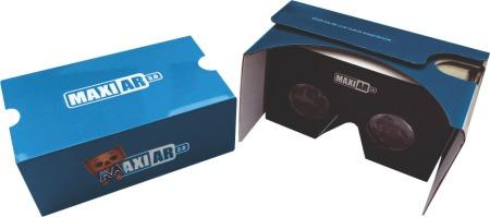 google cardboard maxiar - lentes realidad virtual 2016