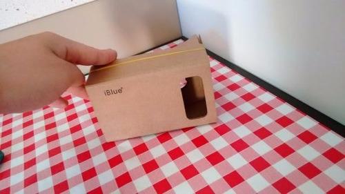 google cardboard rv lentes 3d cartoon