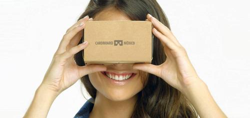 google cardboard v1.0 completo marca cardboard méxico