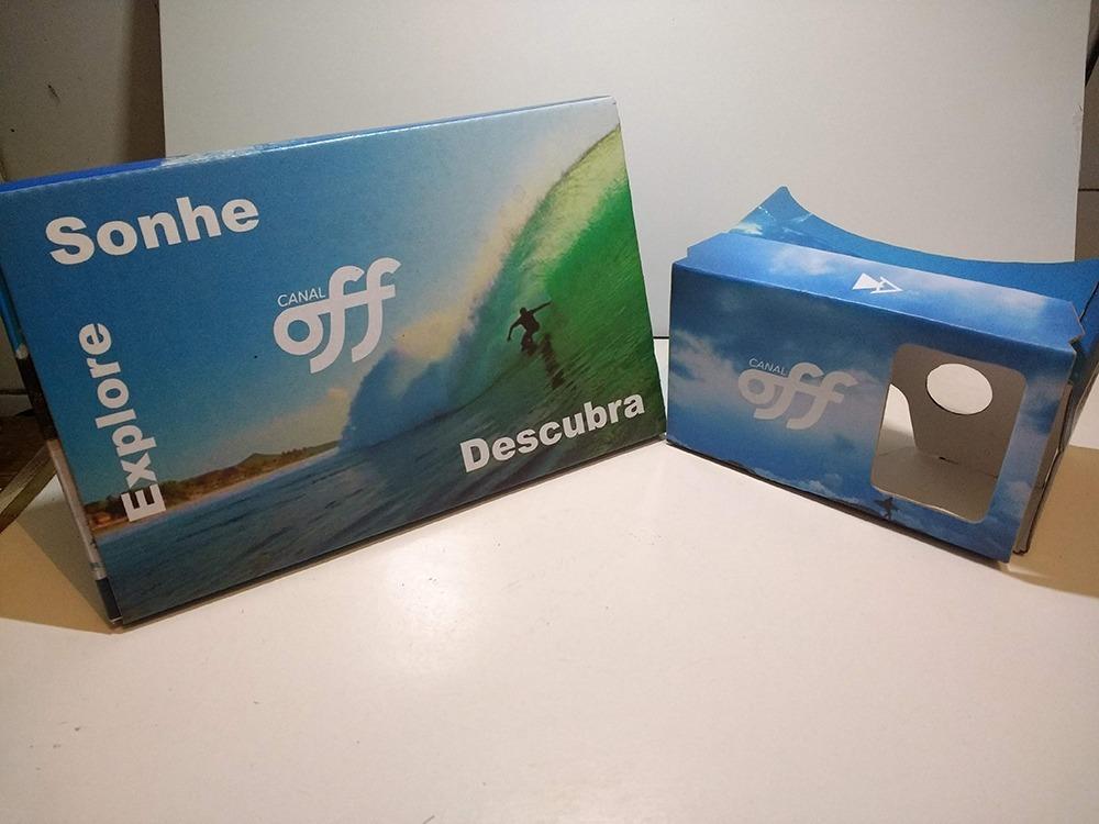 90069632a Google Cardboard V3 C/ Sua Logo P/ Brinde Personalizado - R$ 29,90 ...