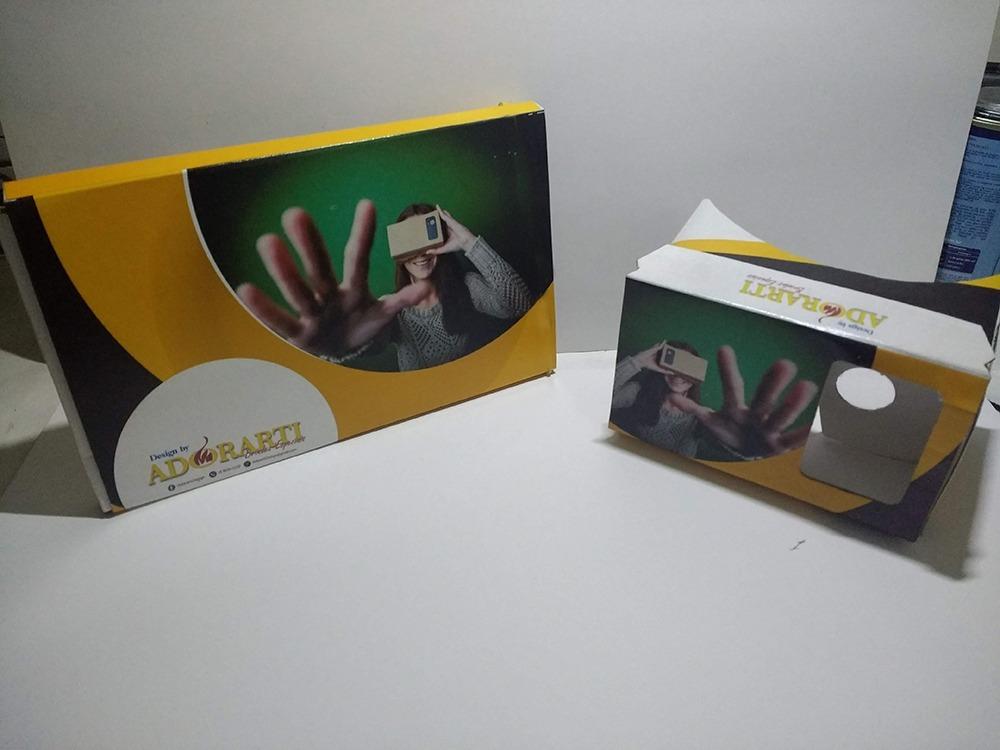 c3eb0674f Google Cardboard V3 C/ Sua Logo P/ Brinde Personalizado - R$ 29,90 em  Mercado Livre