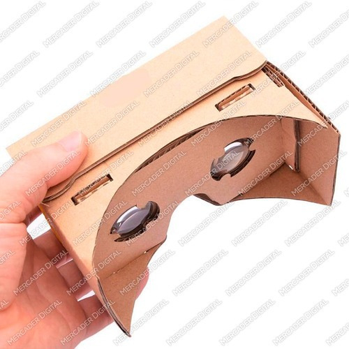 google cardboard visor de realidad virtual lentes vr box 3d