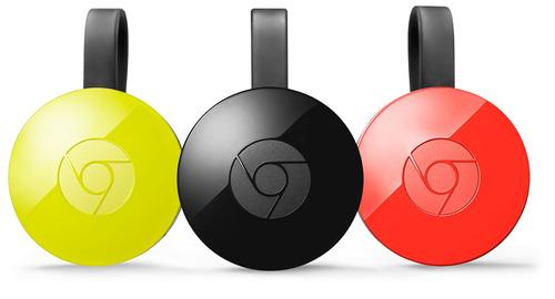 google chromecast 2 | 2015 | negro | garantía | envío gratis