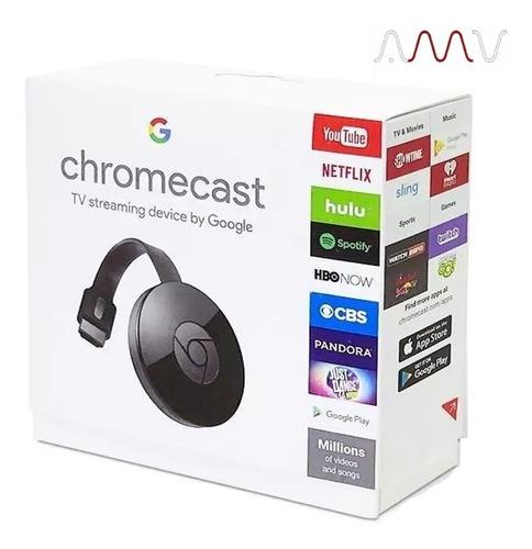 google chromecast 2 full hd 1080p 2 gb wifi hdmi amv