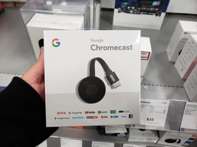 Google Chromecast 2 Generacion 2018 Original - Netflix