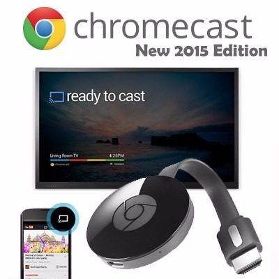 google chromecast 2 original netflix youtube smarttv