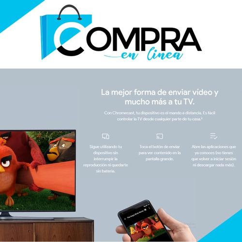 google chromecast 2 smart tv youtube netfix nuevo full hd !