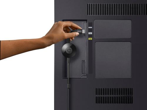 google chromecast 2da generacion smart tv con cargador pared