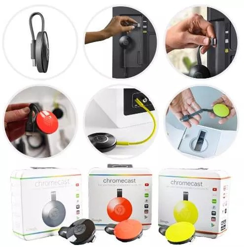 google chromecast 2da generacion smart tv usb netflix