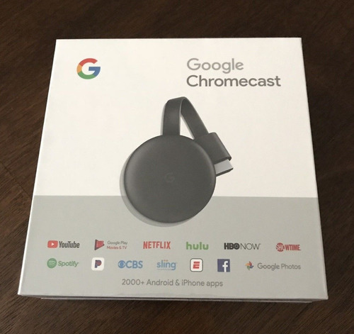 google chromecast 3 2 hdmi smarttv samsung sony apple pedido